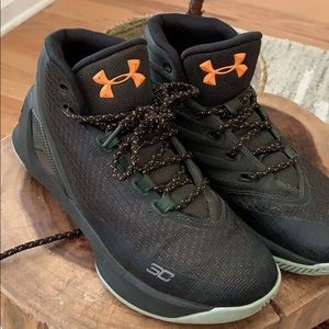 Under Armour Shoes - Steph Curry UA Basketball Shoes Hunter Green/Aqua